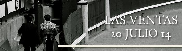 NOVILLADA PLAZA DE LAS VENTAS JULIO 2014